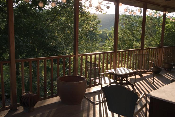 Brine Garden Office Porch