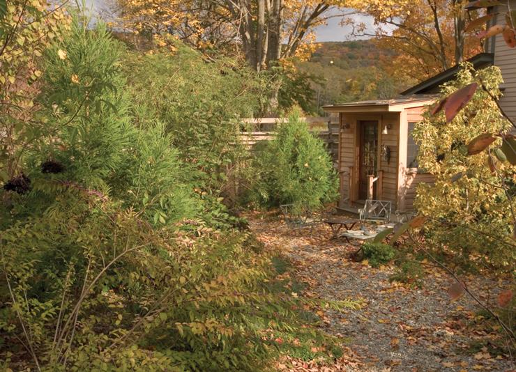 Brine Garden Courtyard