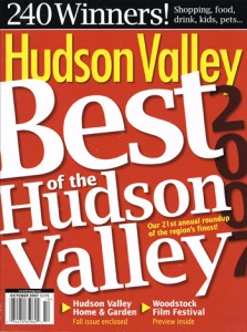 Hudson Valley Magazine, Best of the Hudson Valley