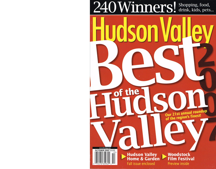 Hudson Valley Magazine: Best of the Hudson Valley