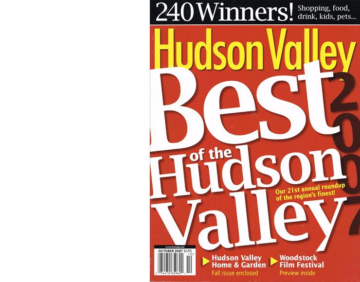 Hudson Valley Magazine: Best of the Hudson Valley