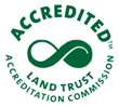 Oblong Land Trust, Accredited